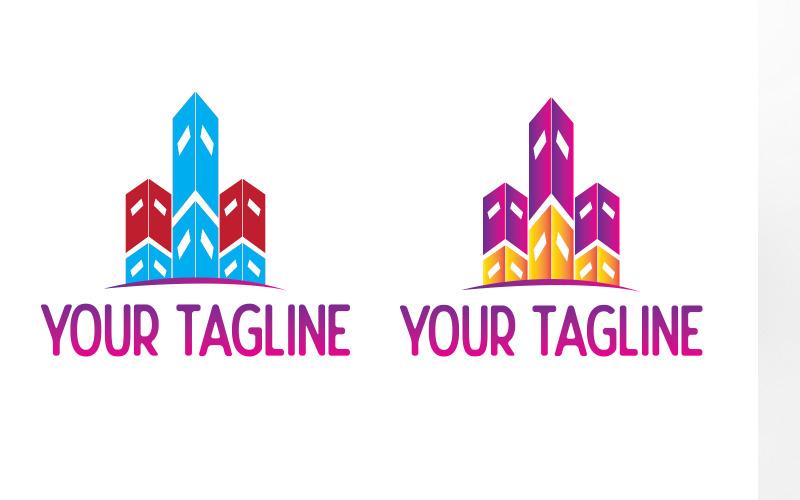 Bygga företag kreativ logotypdesign