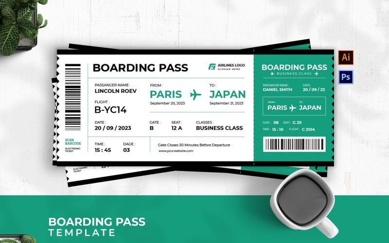 Flygbolagets ombordstigningskort