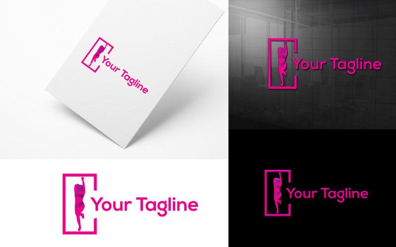 Kreativt mode logotyp design