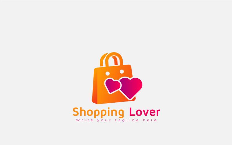 Logo designmall för shoppingälskare