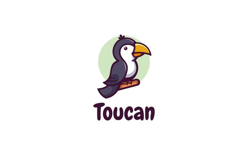 Toucan Simple Mascot Logo