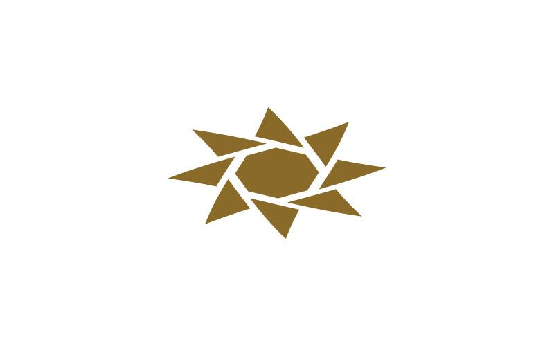 Flyttande logotyp mall
