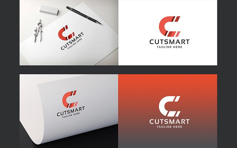 Klipp Smart Letter C Professional-logotyp