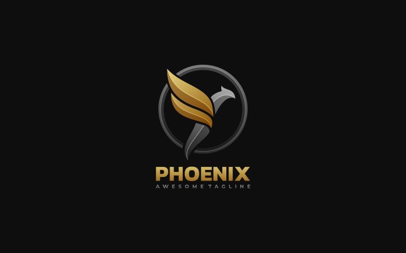 Phoenix Gradient-logotypmall