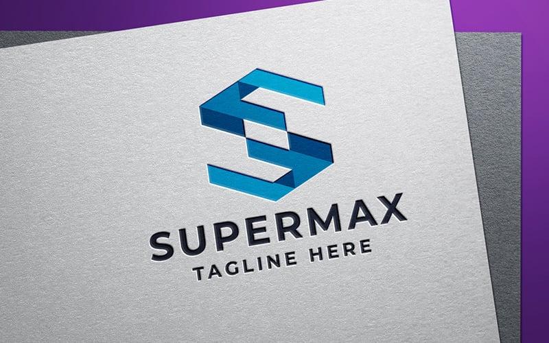 Super Maximum Server Letter S-logotyp