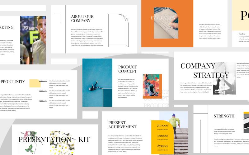 Arikawa - presentationsmall för Powerpoint