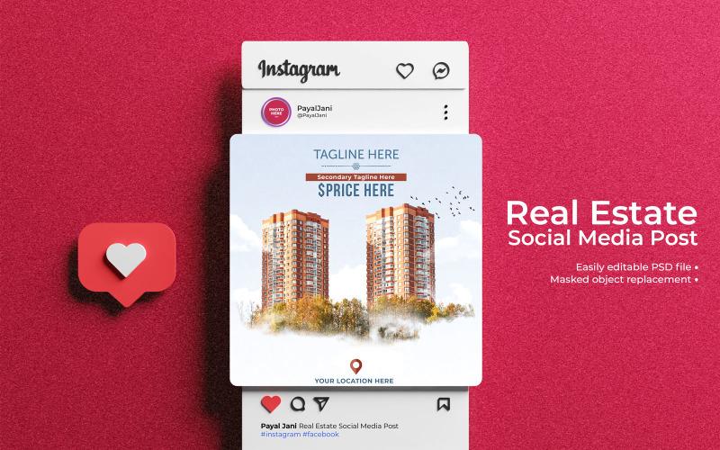 Fastighets sociala medier Post