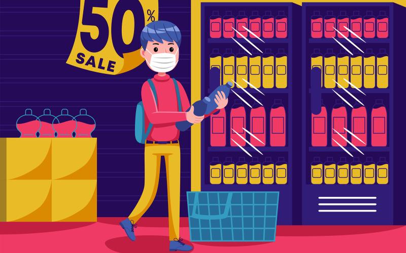 Shopping vektorillustration # 19