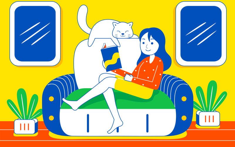 Weekend Fun Vector Illustration # 01