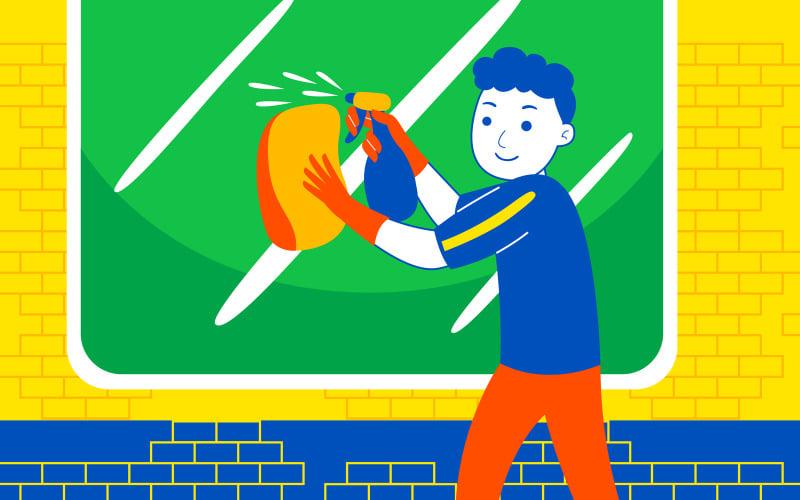 Weekend Fun Vector Illustration #10