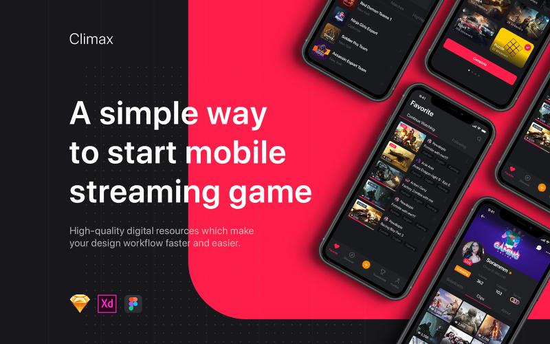 Climax - Livestreaming UI Kit