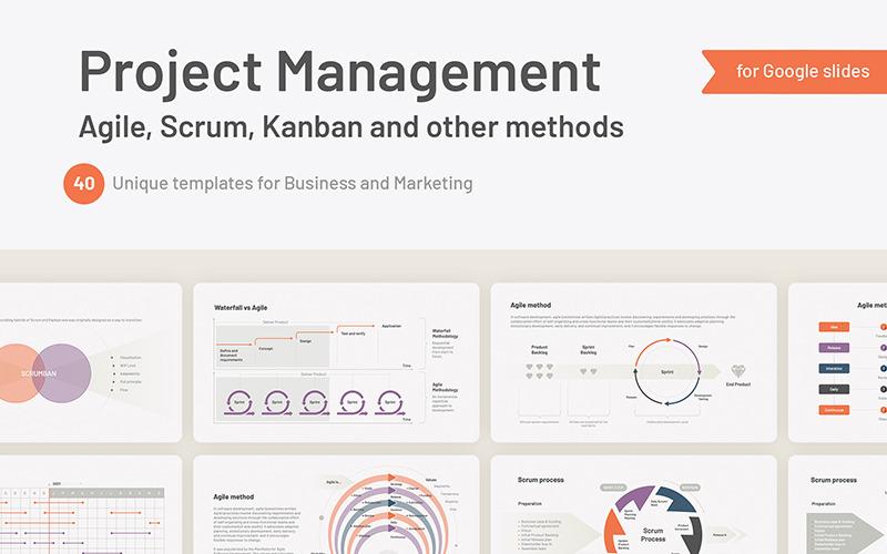 Projektledning Agile, Scrum för Google Slides