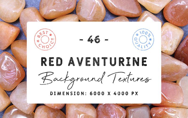 46 Röda aventurinbakgrundsstrukturer