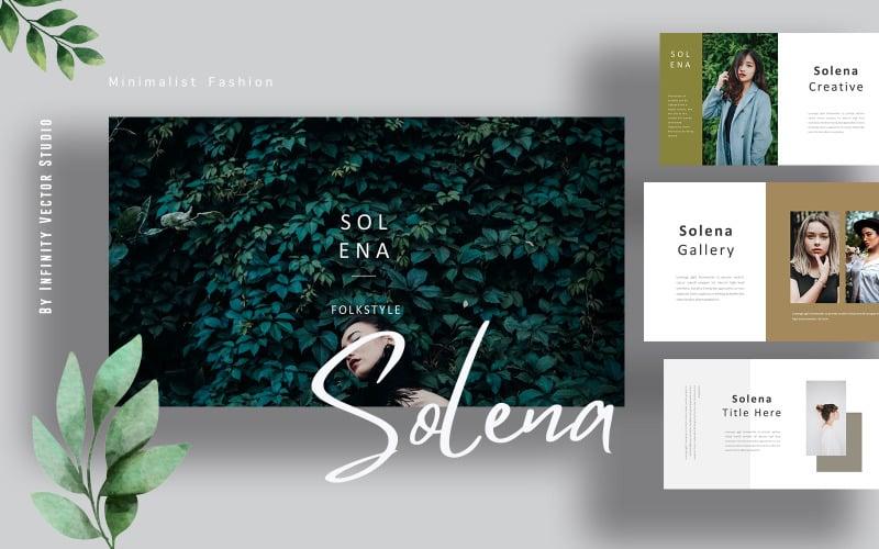 Solena Fashion Lookbook Google Slides