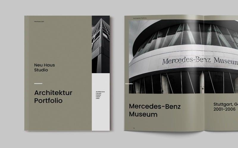 Architecture Brochure Portfolio Template