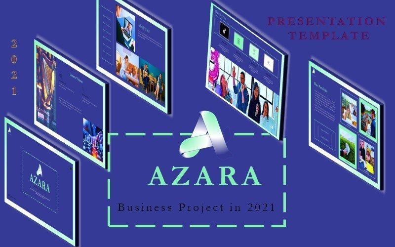 Azara - Business Presentation Keynote Template