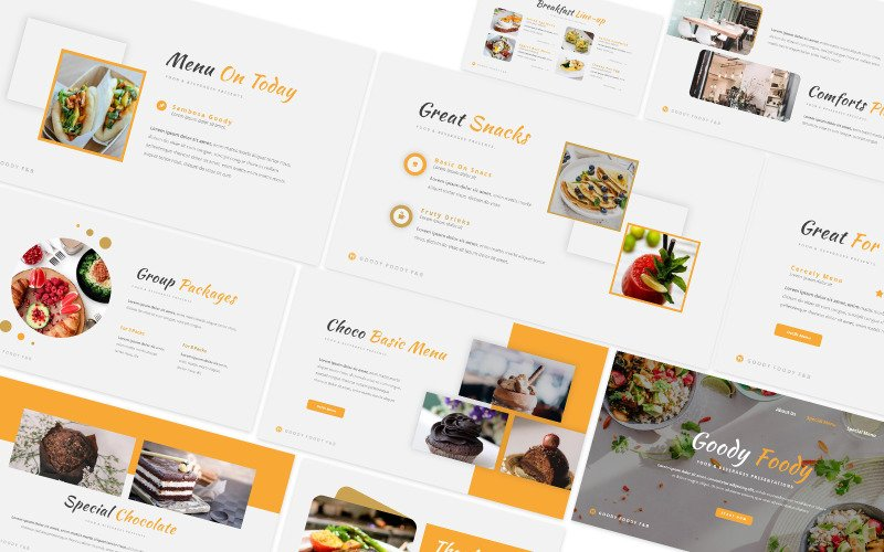 Goody Foody Powerpoint-mall