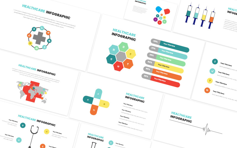 Healthcare Infographic Powerpoint Template