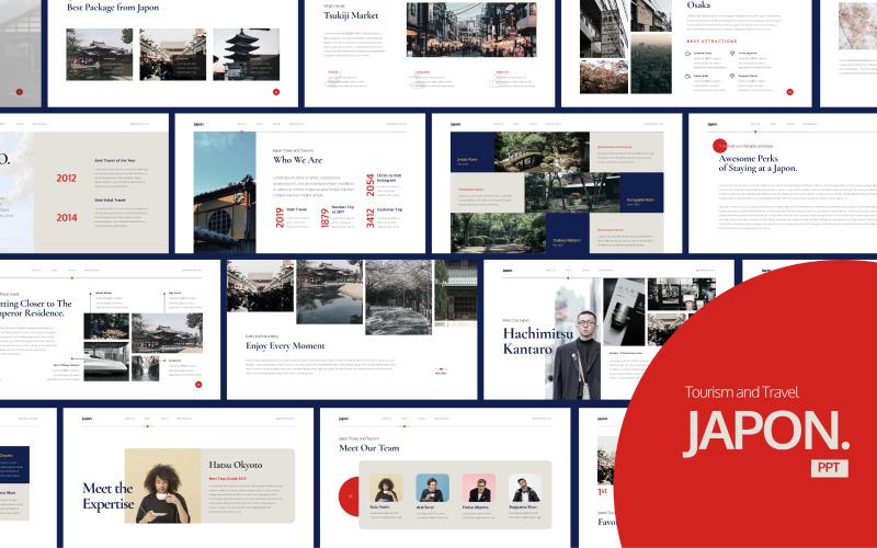 Japon - Travel Business - Powerpoint Templates