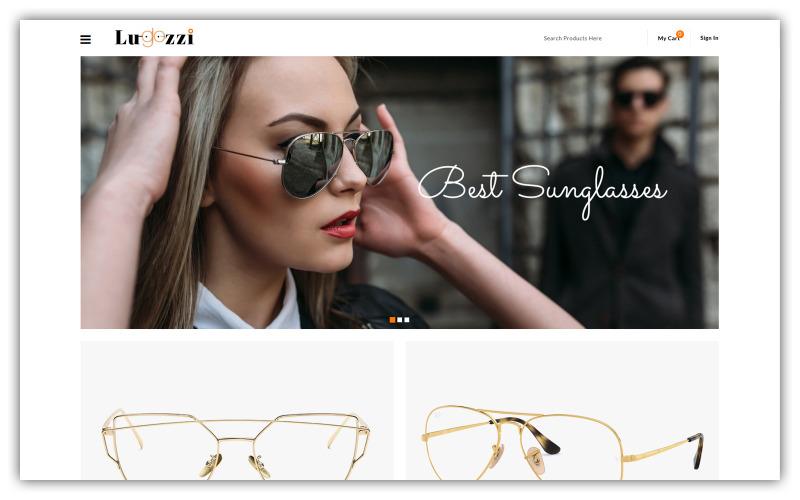 Lugozzi - Solglasögon Store Opencart Theme
