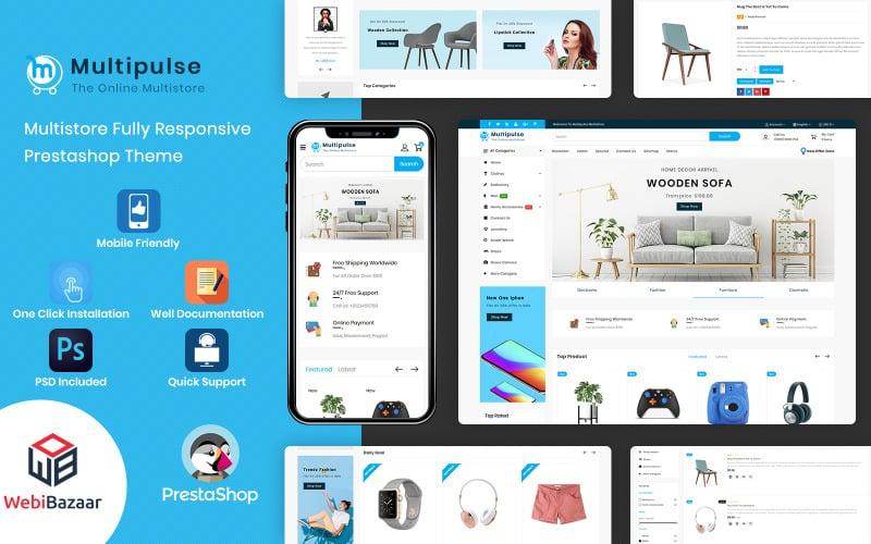 Multipulse - Multipurpose Mega Store PrestaShop Theme