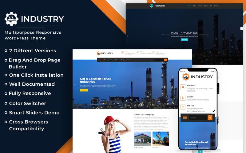 WordPress-tema för branschföretag