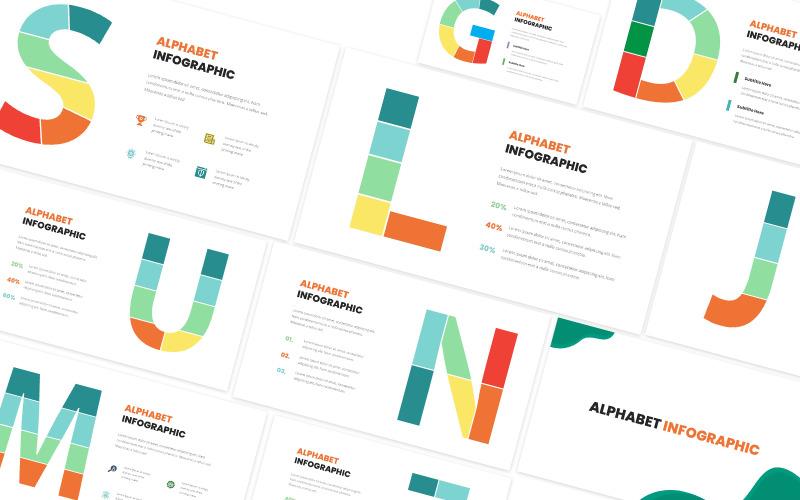 Alphabet Infographic Keynote Template