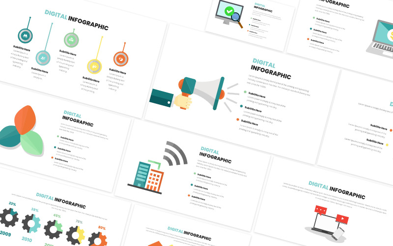 Digital Infographic Keynote