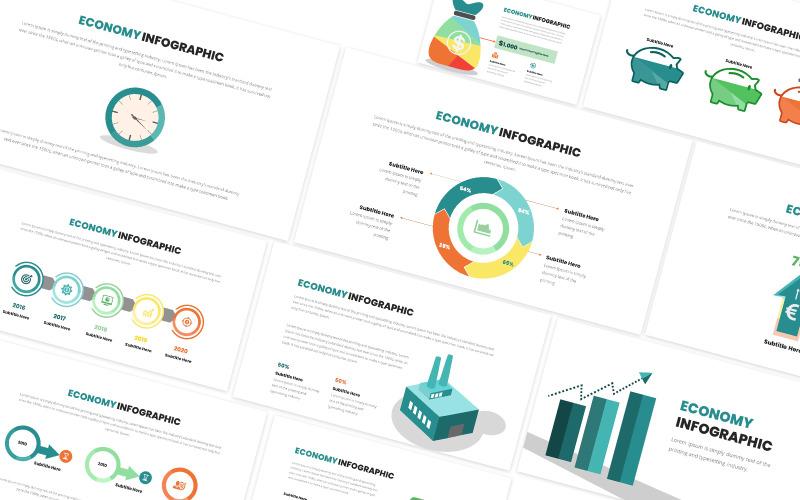 Ekonomisk infografisk Keynote