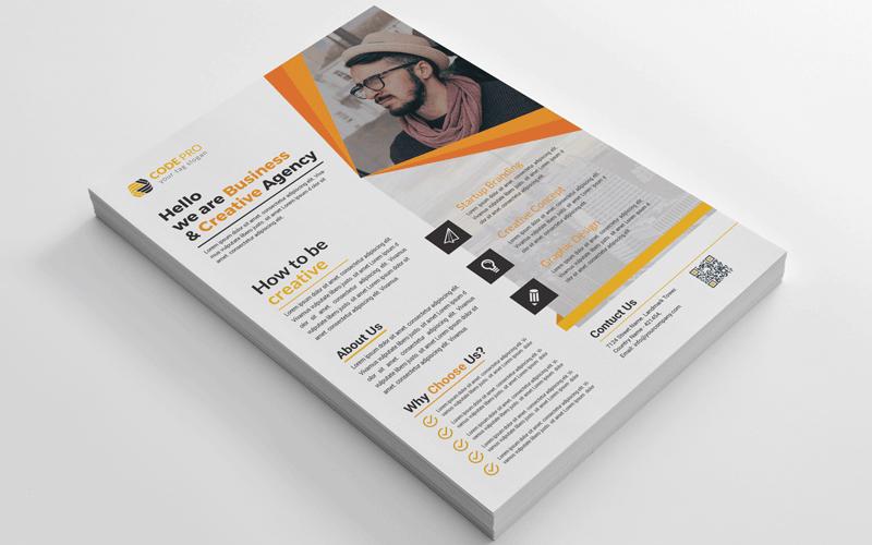 Gratis Creative Agency Business Flyer