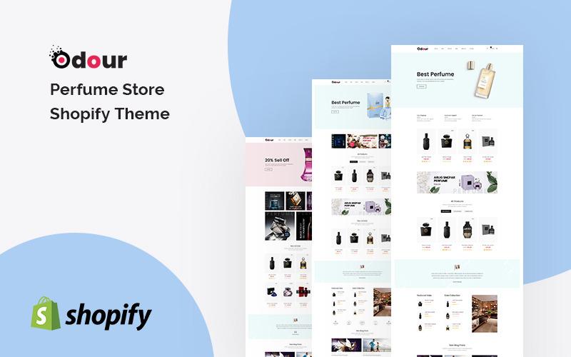 Lukt - Parfymbutik Shopify-tema