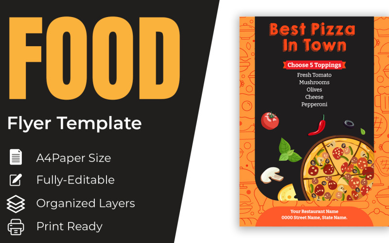 French Fries Food And Drink Marketing Material Templates And Cover Design