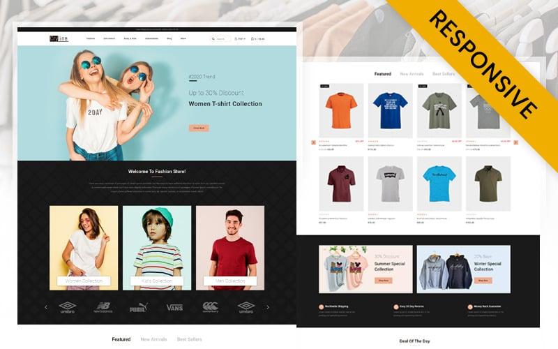 Cryline Tshirts store  Prestashop Responsive Theme