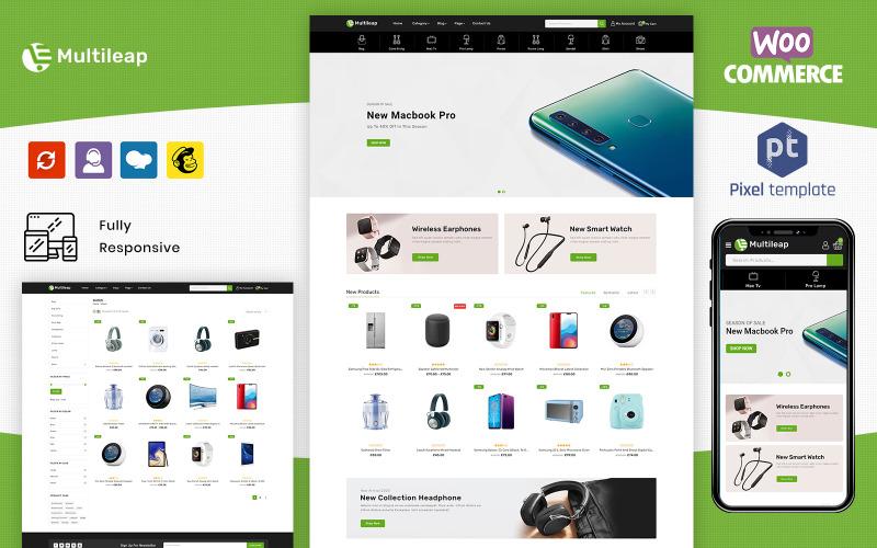 Multileap - Многоцелевой адаптивный шаблон WooCommerce