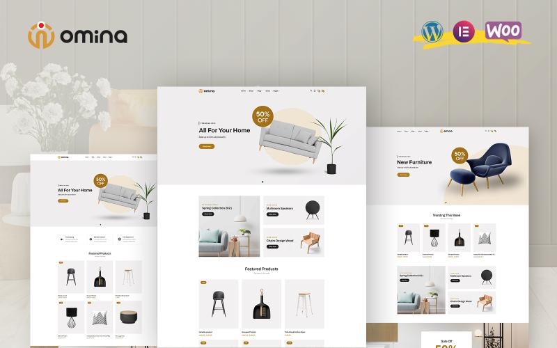 Omina - Furniture WooCommerce Theme