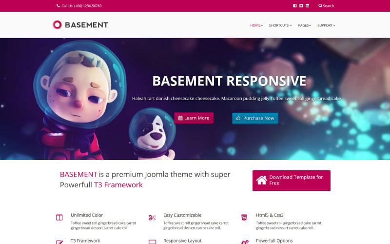 Free Basement Joomla Construction Business Template
