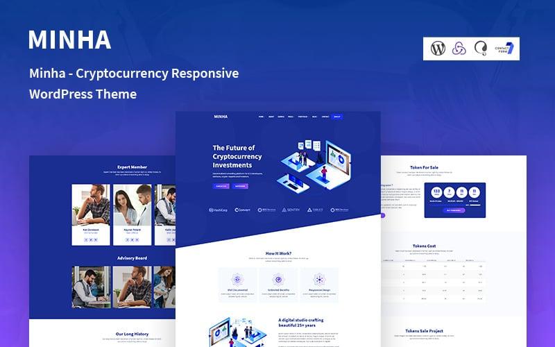 Minha - Responsives WordPress-Theme für Kryptowährungen
