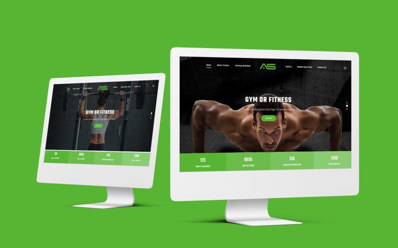 Murad | Gym Fitness HTML5 Website template