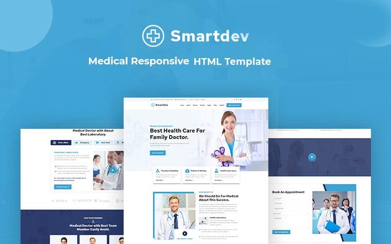 Smartdev - Medical Responsive Website Template
