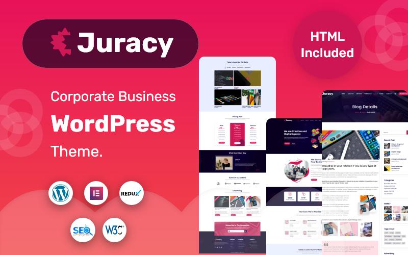 Juracy - Tema WordPress de Negócios Corporativos