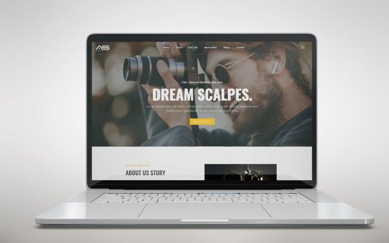 Shuvo   Film & Movies HTML5 Landing Page Template