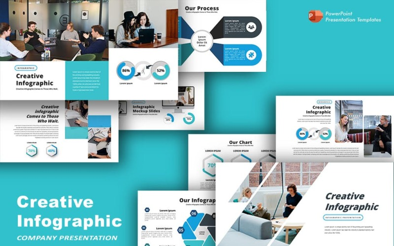 Creative Infographic PRO Powerpoint Template