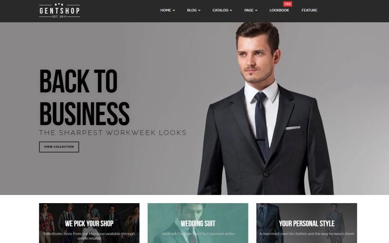 Elegant - Office Mens Fashion Shopify Theme