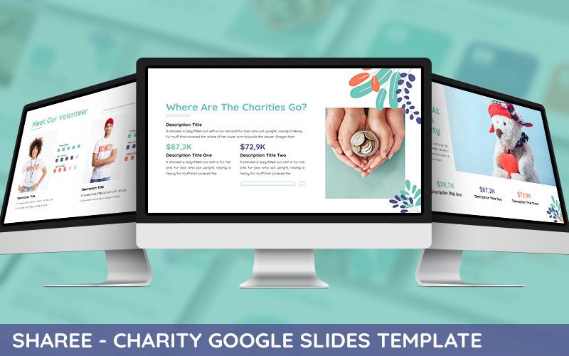 Sharee - Modèle PowerPoint de charité