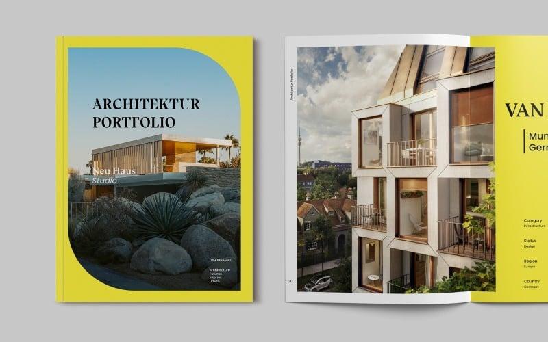 Architecture Brochure Portfolio Magazine Templates