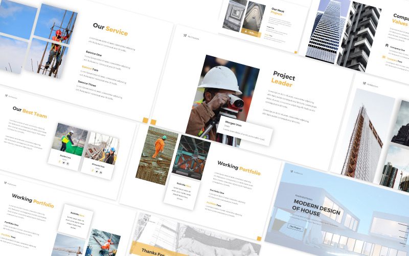 Architecture 2 Powerpoint Template