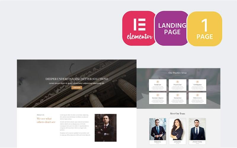 Defender - Lawyer Elementor WordPress Theme Elementor Kit