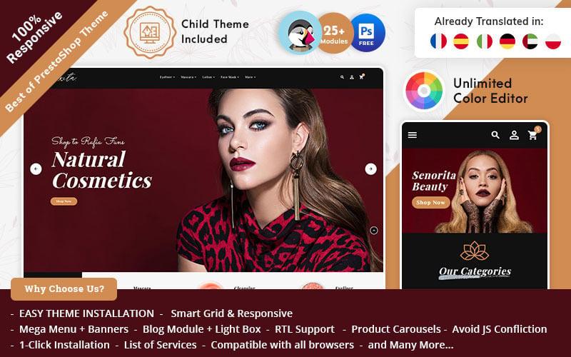 Senorita Cosmetic - PrestaShop Responsive Theme
