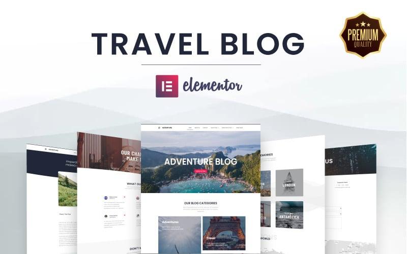 Elementors Ultimate Web Kit for Travel and Adventure Blogging