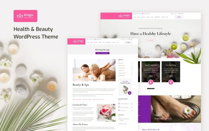 Alagu - Beauty Salon WordPress Theme